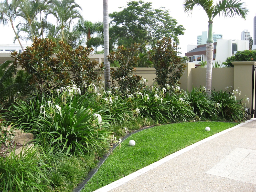 Coastal landscaping ideas quotes for Garden designs brisbane